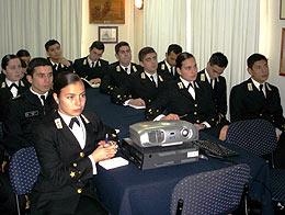 Cadetes de la Escuela Naval realizaron visita profesional al Centro de Abastecimiento Talcahuano