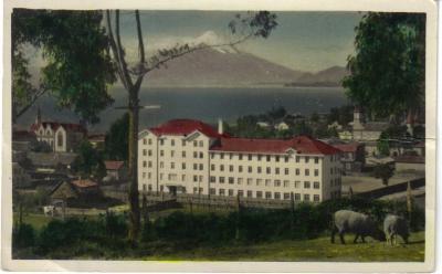 Foto Colegio Germania de Puerto Varas  antes del terremoto de 1960